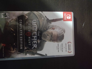 Juego Para Nintendo Switch The Witcher