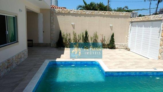 Casa Com 3 Dormitórios À Venda Por R$ 1.650.000 - R3f44c - Canto Do Forte - Praia Grande/sp - Ca0016