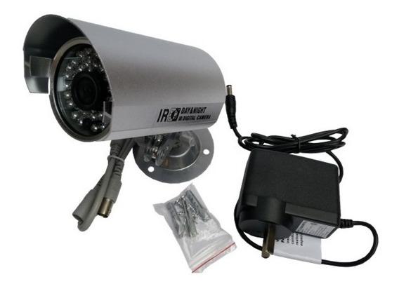 Camara Seguridad Infrarrojo 720p Exterior Fuente 12v