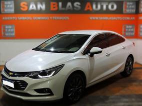 Chevrolet Cruze Ltz 2017 Automatico 4p 1.4 T N San Blas Auto