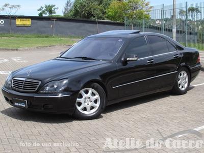 Mercedes Benz S500 1999 Vendida - Ateliê Do Carro