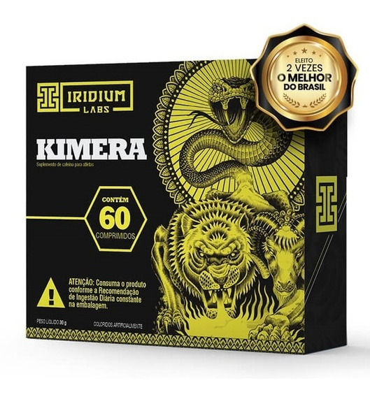 Kimera Thermo - 60 Comps - Termogênico Iridium Labs