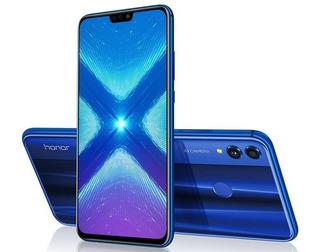Huawei Honor 8x 4/64gb Forro + Vidrio. Tienda Fisica Cc.