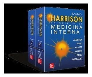 Harrison. Principios De Medicina Interna 20 Ed.