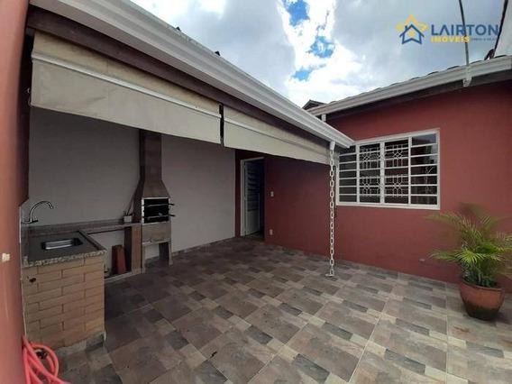 Oportunidade Casa Térrea À Venda No Jardim Alvinópolis Em Atibaia Sp -estuda Permuta No Abc - Ca1972
