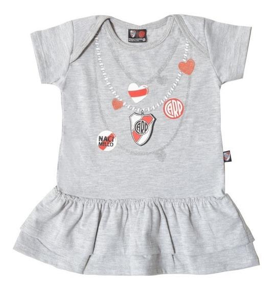 Vestido River Licencia Oficial Body Bebas Camiseta Bebe