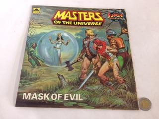 Comic Vintage Usa Super Adventure Motu 20 Cms Mask O