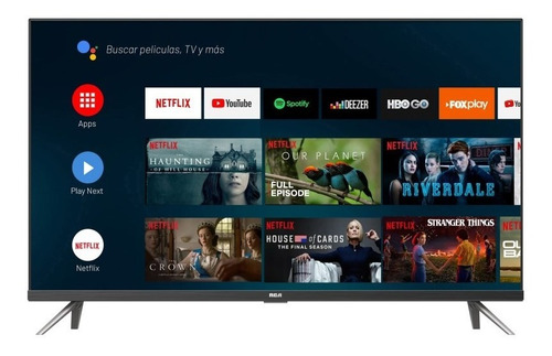 Imagen 1 de 4 de Smart Tv 40 Pulgadas Full Hd And40y Rca Android Tv Ahora 12