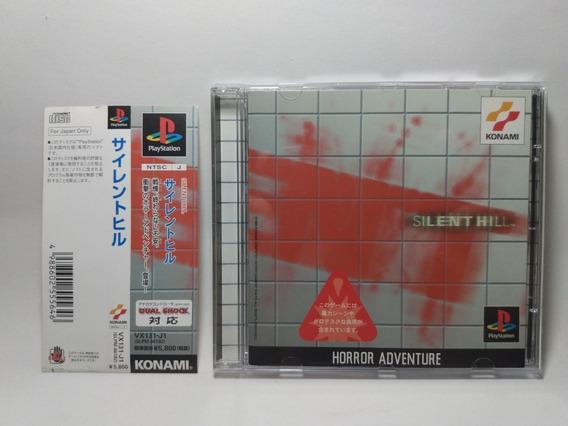Silent Hill 1 - Ps1 - Original Japonês