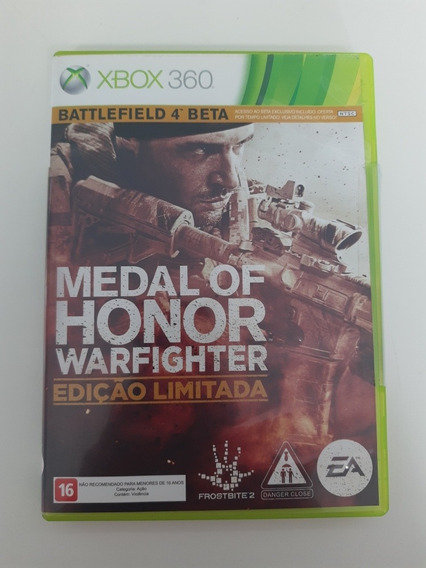 Medal Of Honor Warfighter Edição Limitada Xbox 360 Original