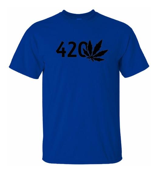 Playera Smoke Weed 420!
