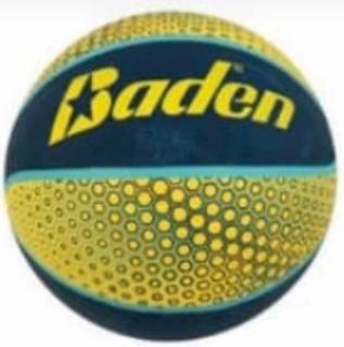 Balon Basket Número 7 Goma Verde Amarillo Kt15