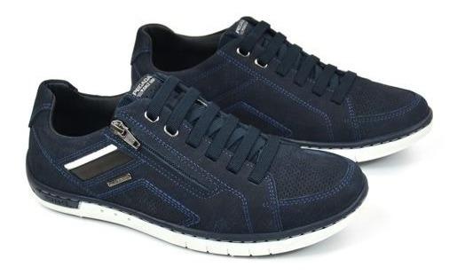 E Sapatênis Masc Blue Jeans Pegada 117405-05 20384