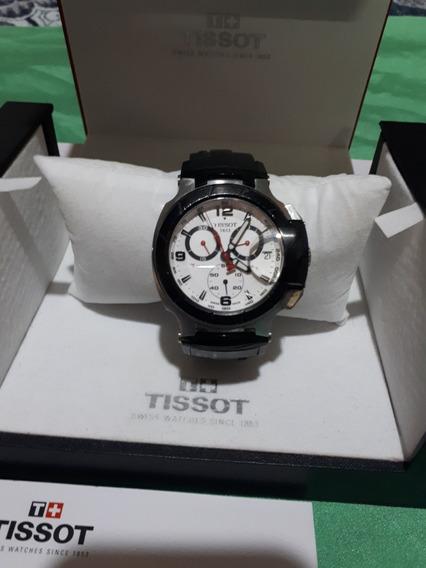 Reloj Tissot T-race Blanco Barato 100% Original