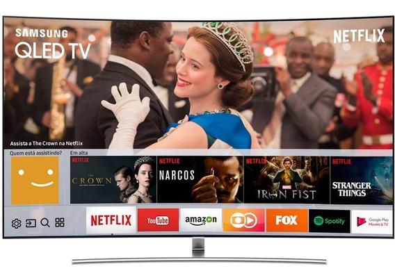 Smart Tv Qled 65 Samsung Qn65q8camgxzd Uhd 4k Curva