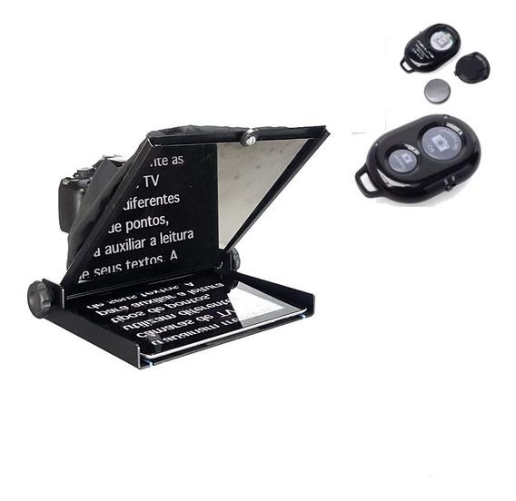 Teleprompter Gazprompter 10,5 Polegadas Com Controle Remoto