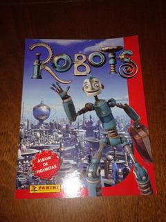 Album Robots Vacio (034) Panini