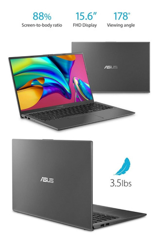Asus Vivobook 15 Slim And Light Laptop, 15.6 Full Hd
