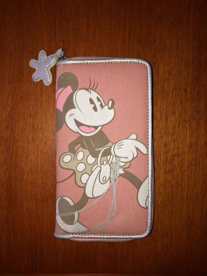 Billetera Disney Minnie Mouse Nueva Con Etiqueta