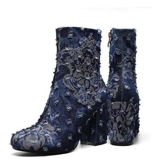 Ankle Boot Feminina Perixir 18005 Importado Frete Grátis