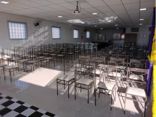 Imagem 1 de 5 de Salão Para Cursos, Palestras , Reuniões Empresariais, Festas