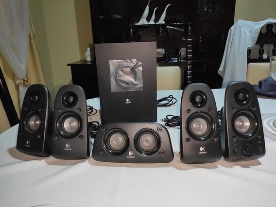 Alto Falante Logitech - Z506 5.1 Surround Sound Speakers
