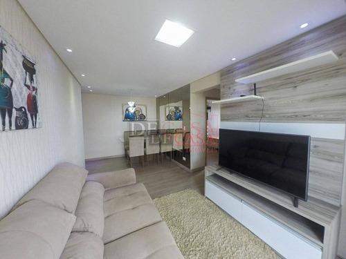 Apartamento Com 2 Dormitórios À Venda, 66 M² Por R$ 350.000,00 - Macedo - Guarulhos/sp - Ap5911