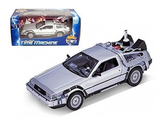 Welly 1/24 escala Diecast Metal Delorean Máquina