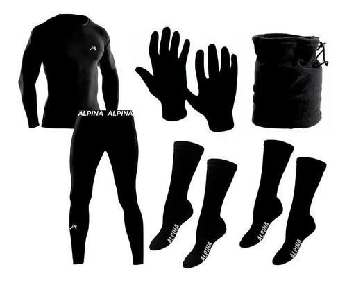 Imagen 1 de 7 de Kit Termico Alpina Frizado Extremo Conjunto + Accesorios Sti