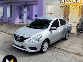 Nissan Versa 1.6 S Manual 2017 - Oferta - Aceito Troca!