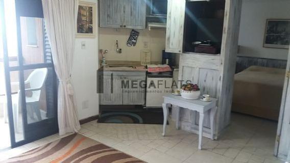 03750 - Flat 1 Dorm, Higienópolis - São Paulo/sp - 3750