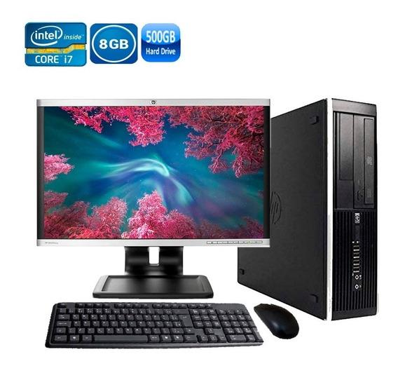 Pc Hp 8300 Intel I7 3ºgeração 8gb Hd 500gb Novo De Vitrine