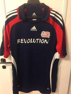 Camisa Antiga Do New England Revolution