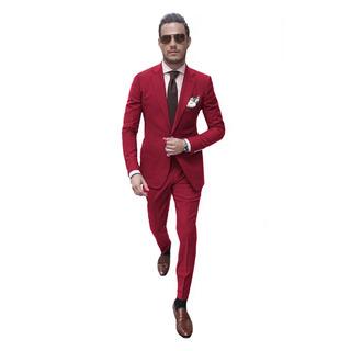 Cintos De Vestir Con Saco Chupin Satinados Y Zapatos Import