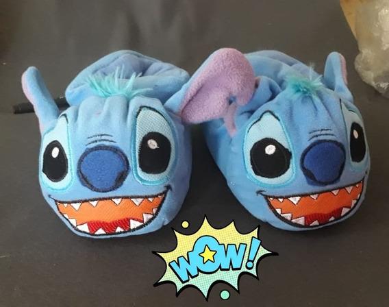 Babuchas Stitch Y Novia De Stitch