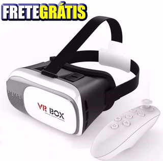 Óculos Vr Box 3d Realidade Virtual 2.0 Ios Android Controle