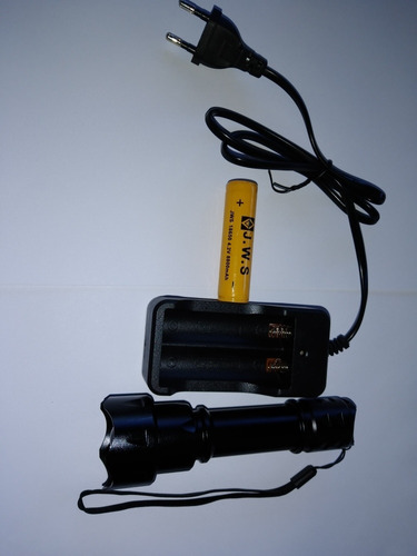 Lanterna Infravermelho T20ir850nm Visao Noturna 10w Completa