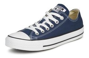 Tênis Converse All Star Azul Cano Baixo Ct00010003