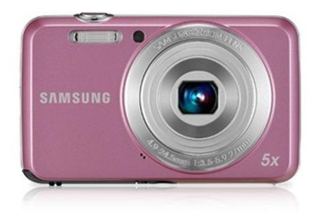 Câmera Digital Samsung Es80 12.0 Mp Rosa