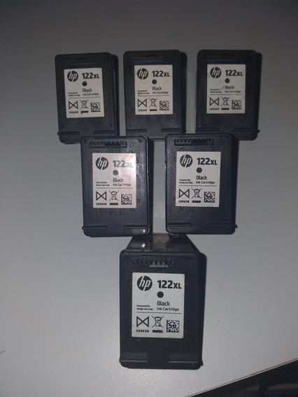 Cartuchos Hp 122xl Negros Usados