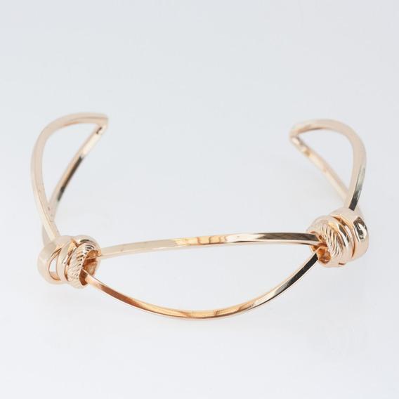 Bracelete Com Detalhes Dourado