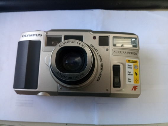 Câmera Antiga Olympus Accura View Zoom 120