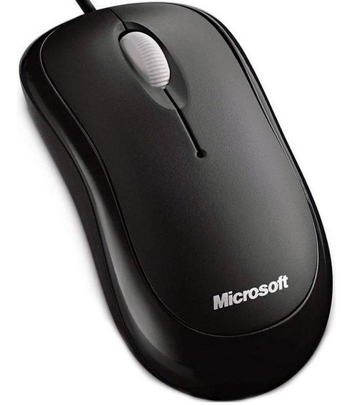 Mouse Microsoft Optical Basic Com Fio Usb Preto P5800061