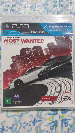 Need For Speed Most Wanted - Mídia Física - Ps3