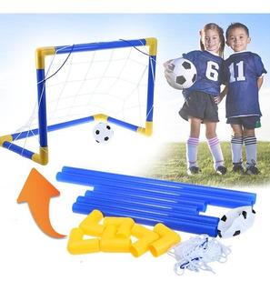 Cancha Fútbol Portable Niños Mini Cancha + Balón + Maya