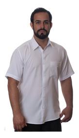 Camisa Manga Curta Tamanhos Do 1 Ao 8 - Masculina