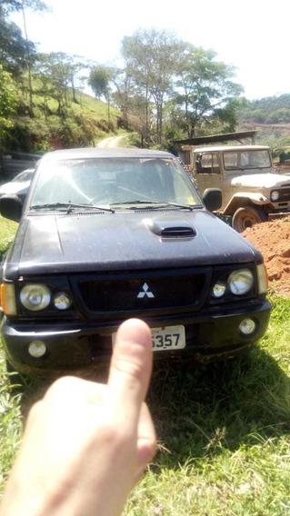 Mitsubishi L200 Gls 2003 Cabine Dupla 4x4 2.5 Diesel 4p