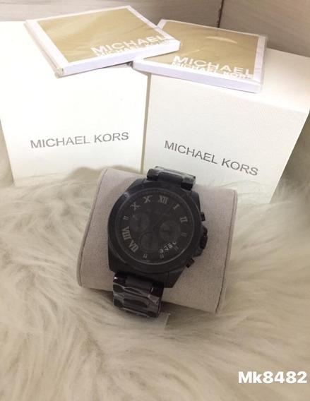 Relógio Kr-724 Todo Preto Michael Kors Mk8482 Promoção