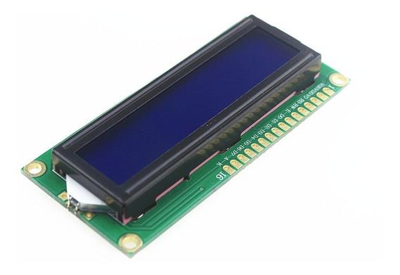 Display Lcd 16x2 + Módulo I2c Serial 1602 Arduino Esp Raspi