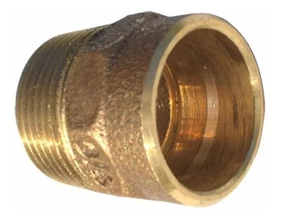 4 Conector Metal 22 X 3/4 Macho